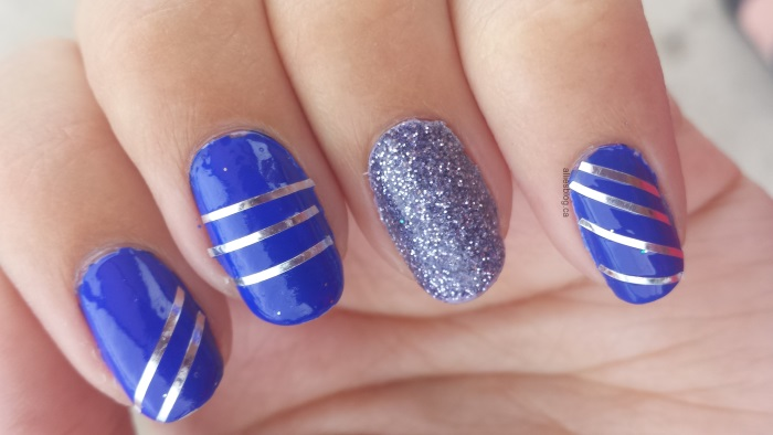 feelingroyal|june232014|royal blue nails