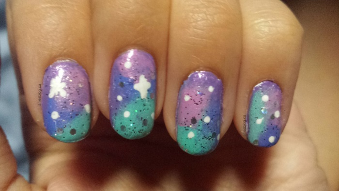 purple galaxy nails|august 4 2014