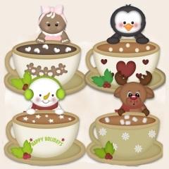 #tbnp_holidaychallenge |holiday nail art challenge| 31 day challenge |thebeautyofnailpolish|day 24|christmas eve |hot chocolate nails