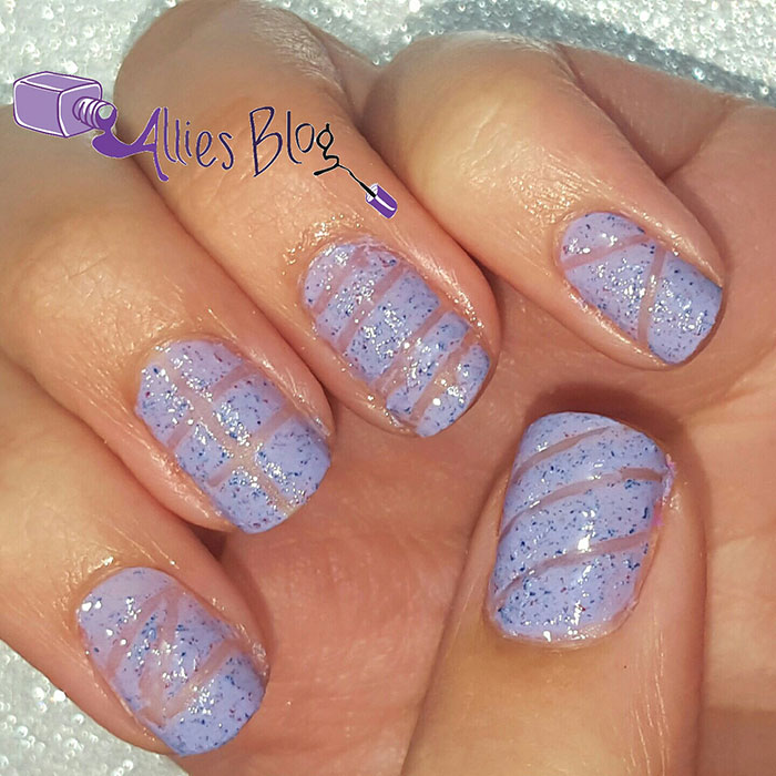 Textured negative space nails | nicole by o.p.i | sally hansen | youtube tutorial