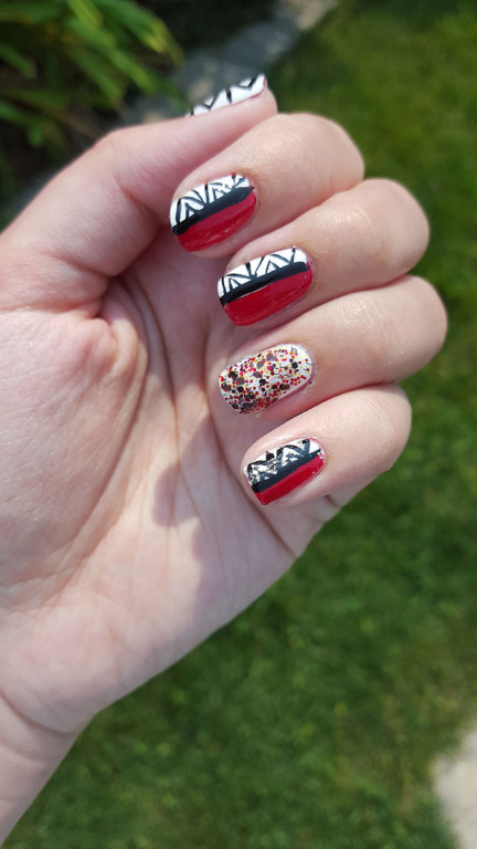 31 day challenge | #31dc2015 | day 1 red nails