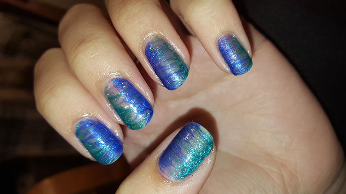 inspired by a color  revlon   sally hansen   color show   31 day challenge   #31DC2015