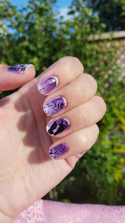 inspired by artwork day 27 of the 31 day challenge | #31DC2015 | gradient nails