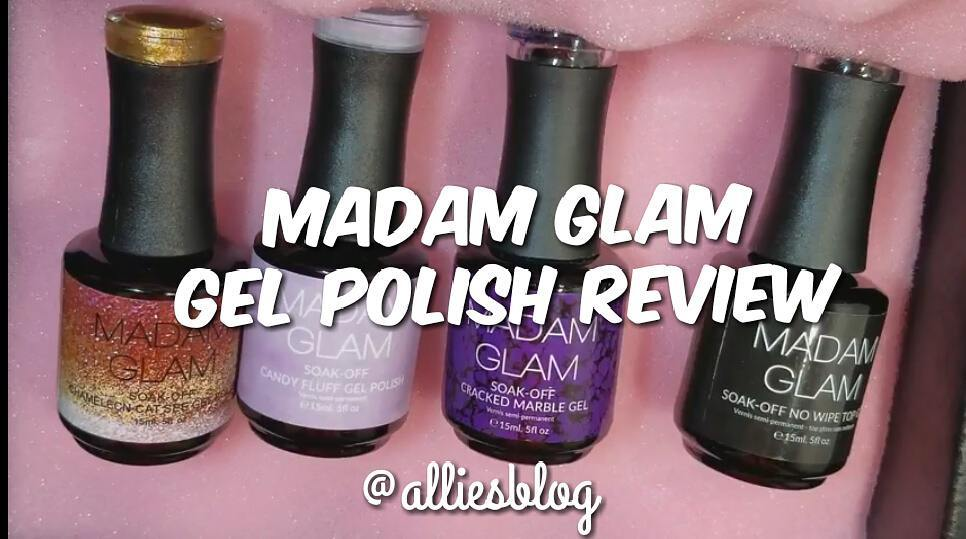 Have you seen my madamglam gel nail polish review yet!hellip